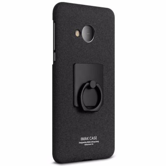 Harga IMAK Frosted Shield Hard Plastic Back Cover Case For HTC U Play - (Black) - intl