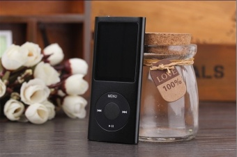 Harga iPod Mp3 Player Mp4 Player+Free 8GB Miro Card+Free Earphone - intl