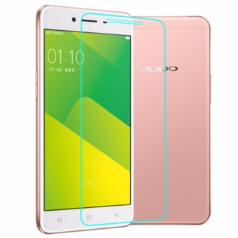 for OPPO A37 Tempered Glass Film Ultra Thin Screen Protector Guard HD Explosion-proof Anti-burst - intl