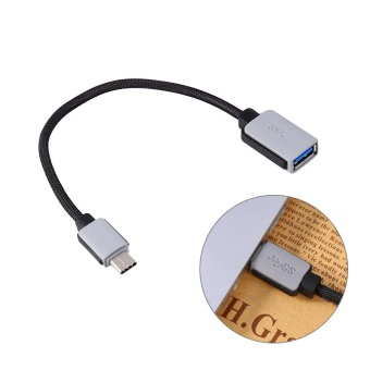 Harga USB 3.1 Type C Male to USB 3.0 Type Female Adapter OTG Changer Data Sync Charging Cable Cord - intl