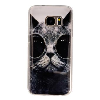 Harga Ueokeird Protective Anti-Scratch Crystal Shock Proof Soft Thin TPU Phone Case Cover For Samsung Galaxy S7 - intl