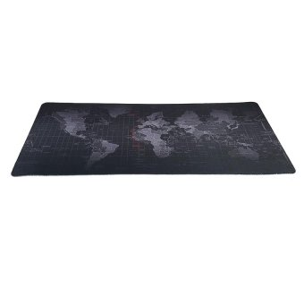Harga New World Map Speed Edition Gaming Game Super Mouse Mat Pad Locked 800*400*3mm - intl