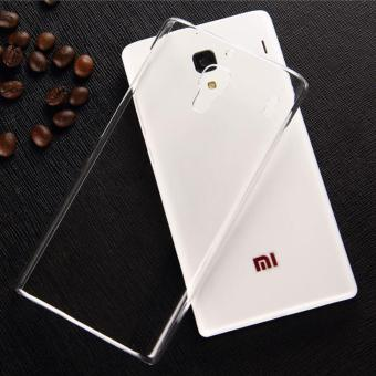 Harga Xiaomi Redmi Note 3G/4G Ultra Thin Transparent Crystal Clear TPU Silicone Case Casing Cover