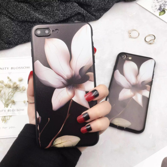 Harga Iphone6s 7 plus Apple thin lily flower phone shell