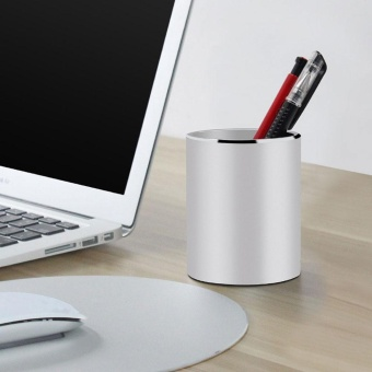 office pen holder. Jiaxiang Pen Pencil Holder, Creative Simple High-end Business Office Holder Stainless Steel