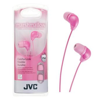 JVC HA-FX34PN In-Ear Headphones (Pink) | Lazada Singapore