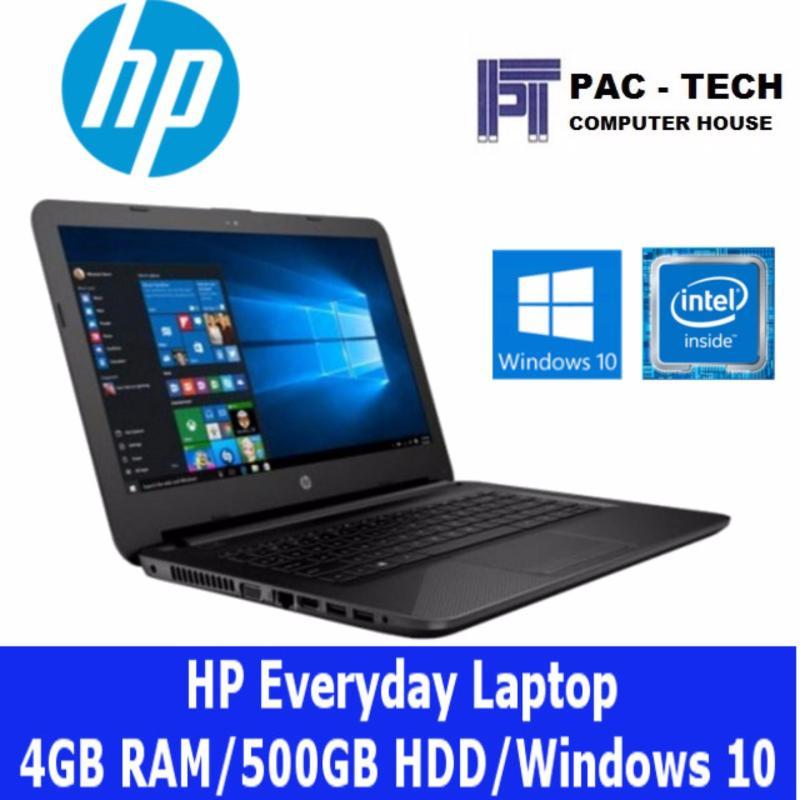 Latest HP Everyday Laptop/4GB RAM/500GB HDD/Windows 10/1 Year Warranty