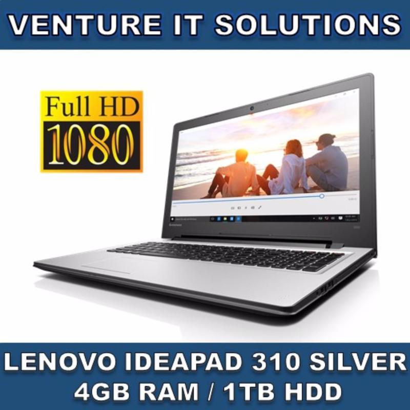 LENOVO IDEAPAD 310-14IKB I5-7200U 4GB 1TB GT920MX 14.0 FHD DVDRW WIN10 (Silver)