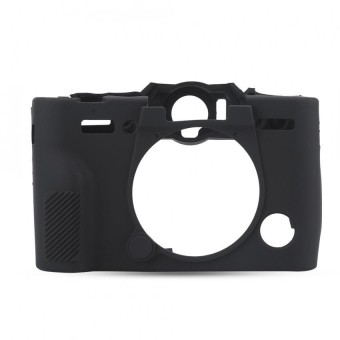 Lightweight Durable Silicone Camera Case Bag Cover Protector for Fujifilm XT10 XT20(Black) -