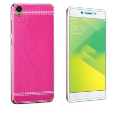 Litchi Pattern Back Cover Case For Vivo Y55black Intl Spec dan Source · Intl Source Litchi Pattern Leather Phone Case with HD Tempered Glass Soft ...