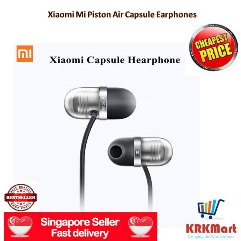 ♠ Local Seller ♠ 100% Original Xiaomi Mi In-Ear Headphone Xiaomi Mi Piston Air Capsule Earphones Singapore