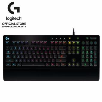 Logitech G213 Prodigy RGB Spill Resistance Gaming Keyboard and AntiGhosting