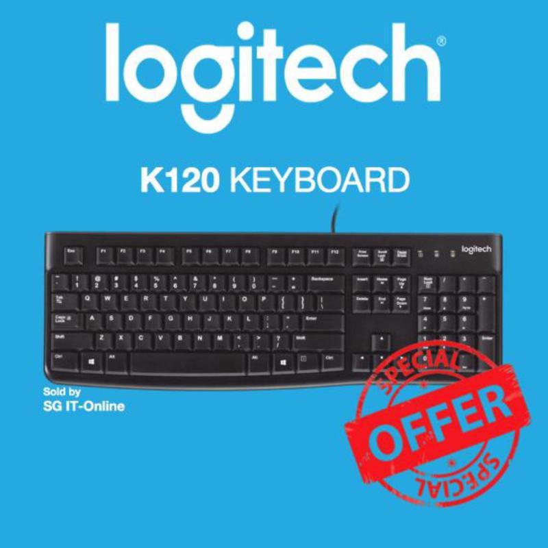 Logitech Keyboard K120 Singapore