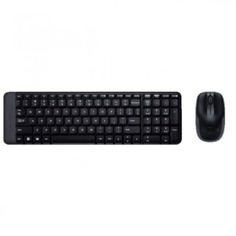 Logitech Mk220 Wireless Keyboard And Mouse Combo Black