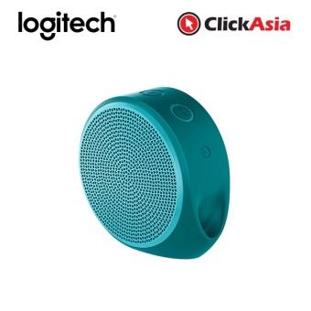 Logitech X100 Bluetooth Mobile Wireless Speaker - Cyan Green (984-000376)