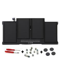 MacBook Air 13-inch (Mid 2011/Mid 2012) Battery (A1405) + Pack Rubber Case Feet with Screws + Screwdriver