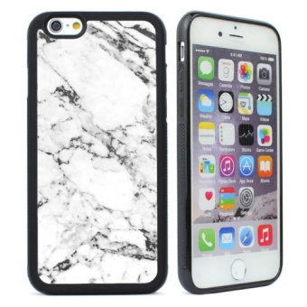 Harga Marble Pattern Protection Cell Phone Case Cover For Iphone 7 plus -intl