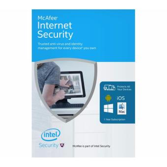 McAfee Internet Security for 3 devices (latest version)