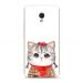 MEIZU mx6/5/4/Pro mobile phone shell original Cool cute cartoon stay Meng Department Teddy dog pet female models
