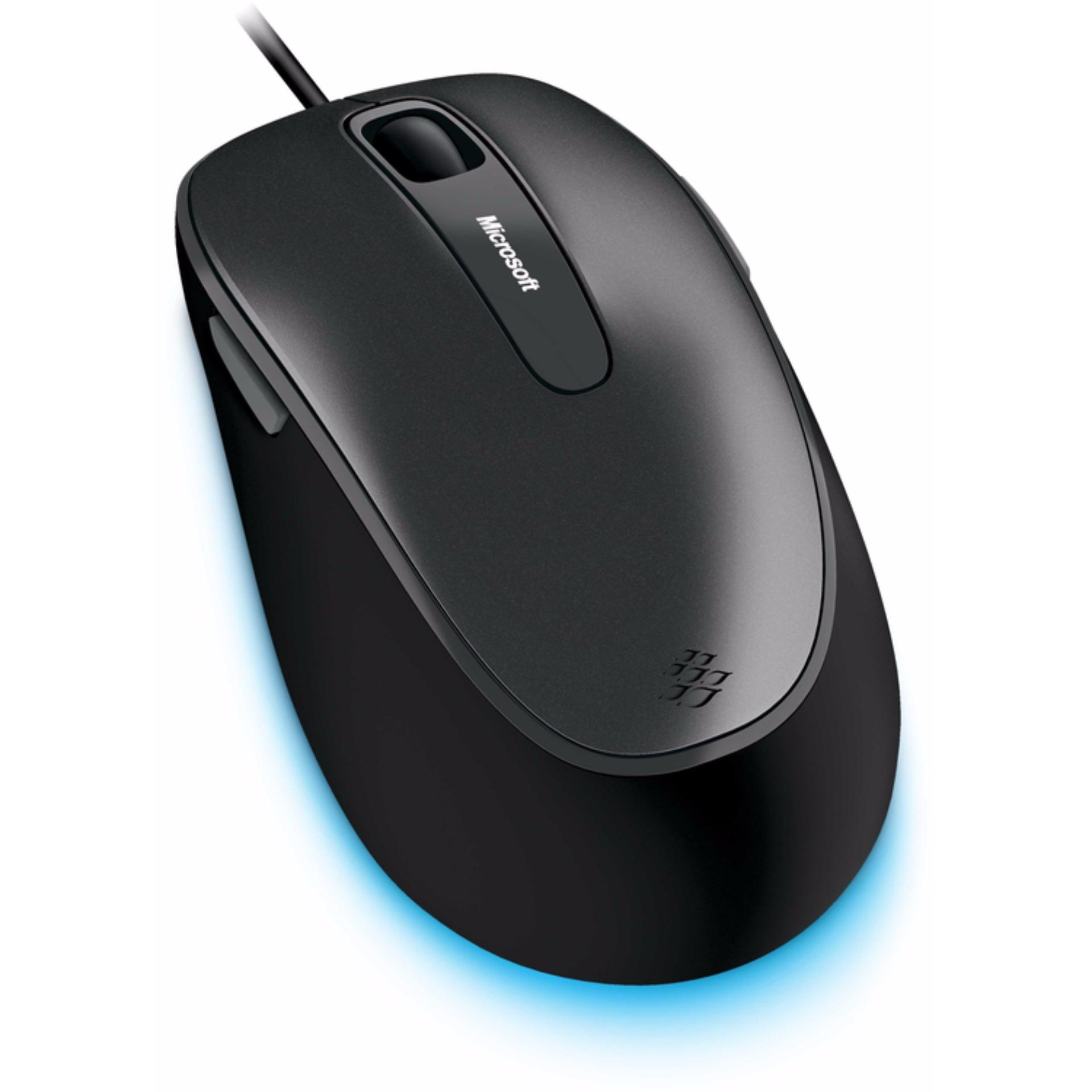 Microsoft Wired Comfort Mouse 4500 Grey Singapore Sculpt
