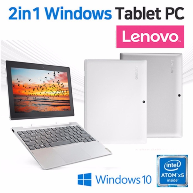 [NEW] LENOVO Miix 320 32g 2in1 Laptop &Tablet PC Window 10/ Touchscreen Detachable 10.1 / Laptops - intl