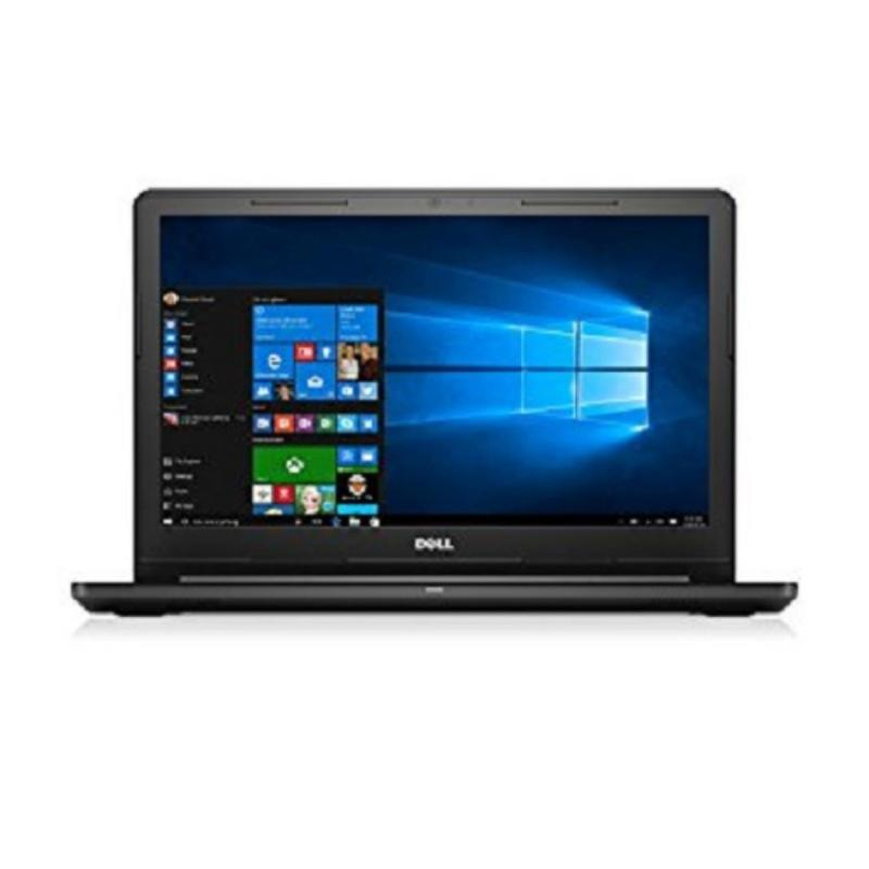 New VOSTRO 3568 7th Gen i5 7200U 3M Cache up to 3.1 GHz 4GB RAM 500GB Intel HD Graphics 15 inch display Windows 10 Pro Black LCD cover without Fingerprint reader with ODD Integrated 720p HD camera with microphones
