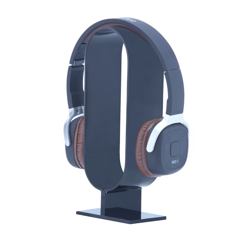 niceEshop Universal Headphone/Headset Showing Stand For Different Headphone Sizes (Black) Singapore