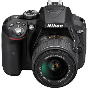 Nikon D5300 24.2MP Kit + Nikkor AF-P DX 18-55mm f3.5-5.6 Lens Kit - 2