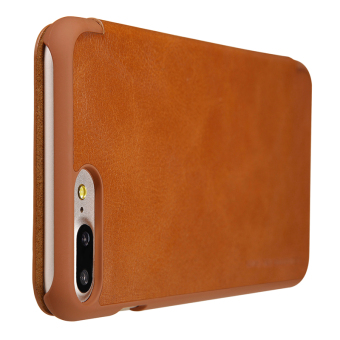 Nillkin Leather Case Cover Phone Bags For Apple iPhone 7 Plus(Brown) - 5