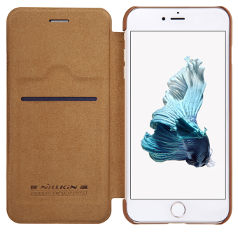 Nillkin Leather Case Cover Phone Bags For Apple iPhone 7 Plus(Brown) - 3
