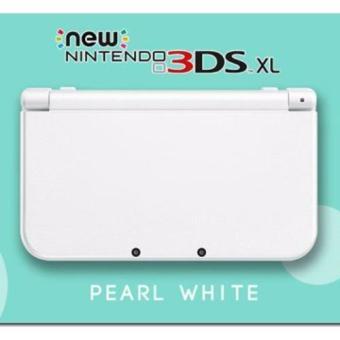 Nintendo New 3DS XL Console Pearl White