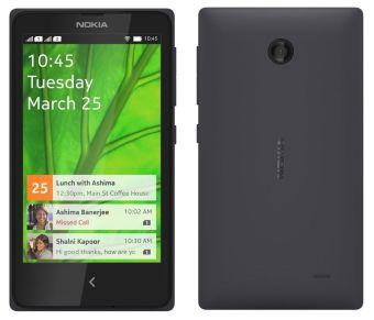 NOKIA X 4GB (BLACK) (EXPORT)