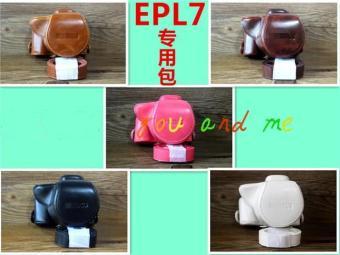 Olympus e-pl7/epl7/epl7 super Leather cover original camera bag
