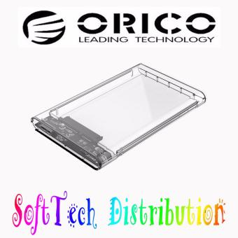 ORICO 2.5 inch Transparent USB3.0 Hard Drive Enclosure (2139U3-CR)