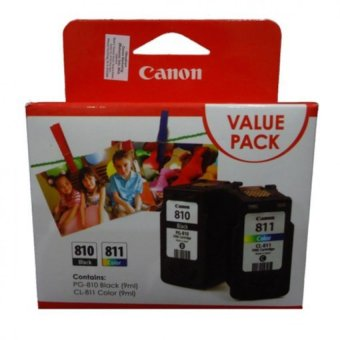 ORIGINAL Canon PG-810 / CL-811 Value Pack
