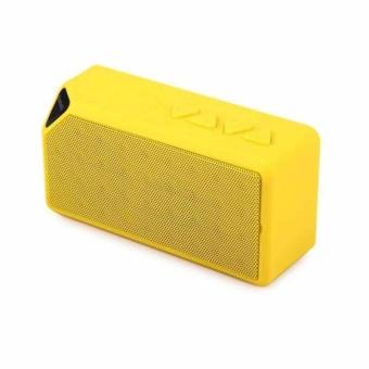Outdoor Portable New Bluetooth Speaker X3 Wireless Bluetooth Speaker Outdoor Small Box Audio Mini Portable Radio