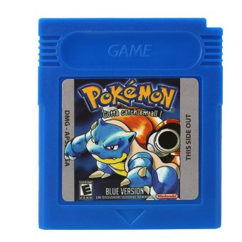 Harga Pokemon GBC Game Card Game Boy Advance GB GBC GBA SP Game ConsoleBlue - intl