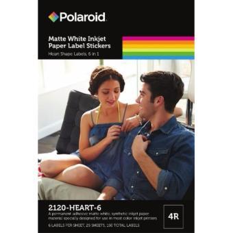 Polaroid Photo Stickers(2120-HEART-6)
