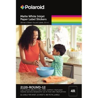 Polaroid Photo Stickers(2120-ROUND-12)