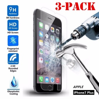 Premium 9H Tempered Glass / Screen Protector for Apple iPhone 7 Plus (Clear) -
