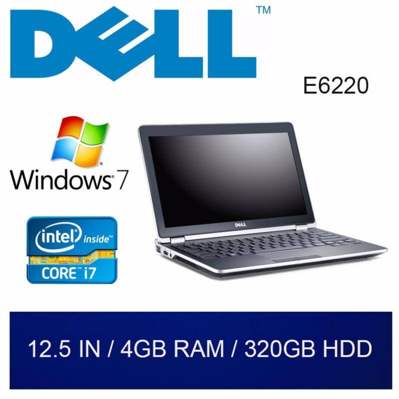 Refurbished Dell E6220 Laptop / 12.5in / i7 / 4GB RAM / 320GB HDD / W7 / 1mth Warranty