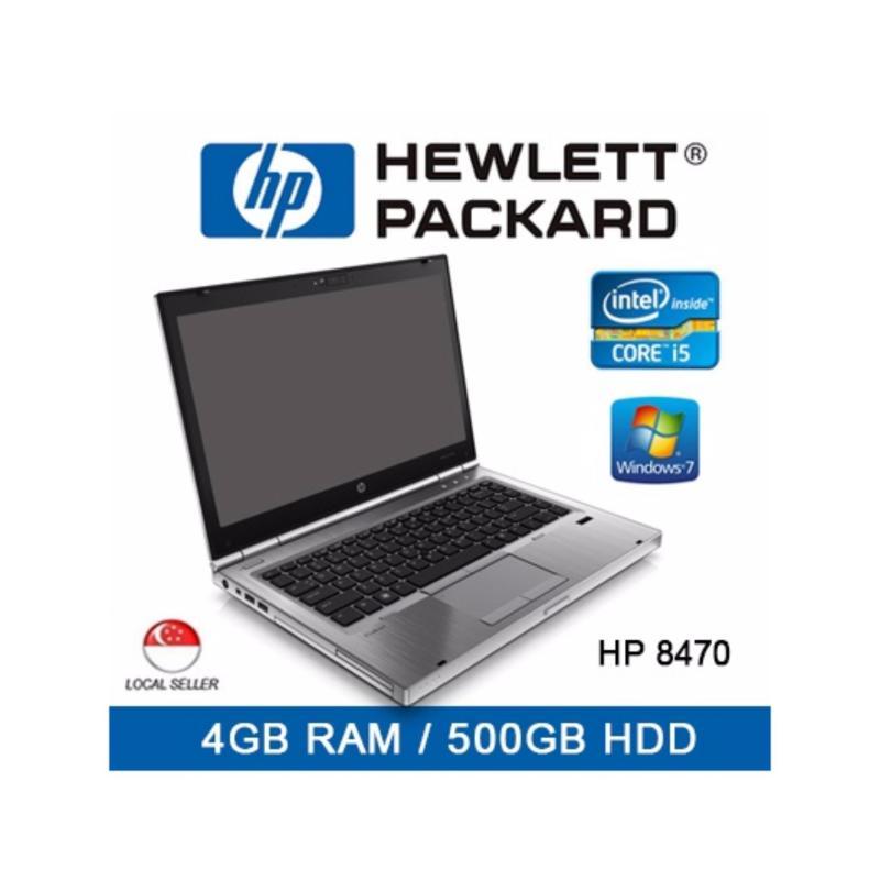 Refurbished HP 8470 Laptop / Intel i5 / 4GB RAM / 500GB HDD / Windows 7 / 1 Month Warranty