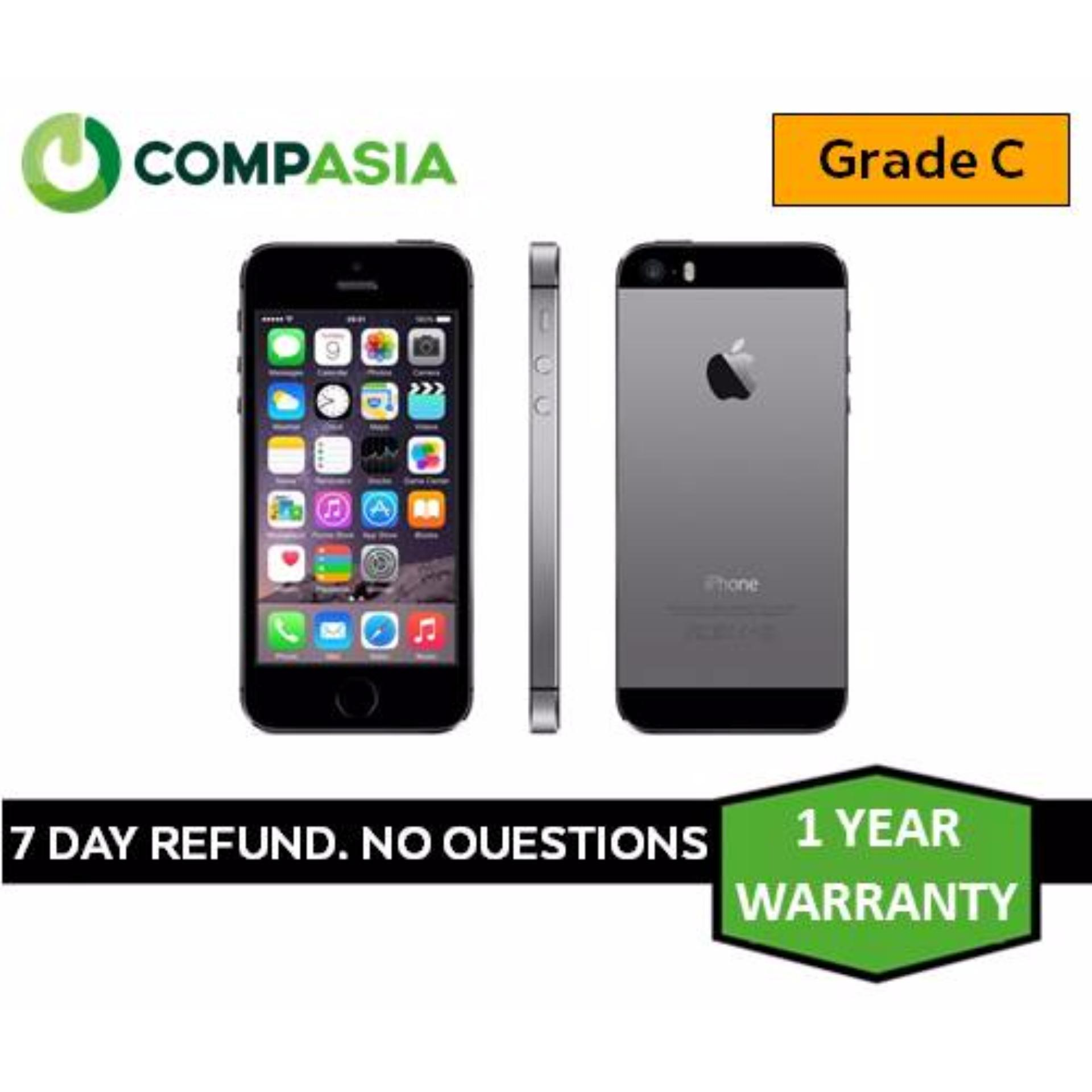 Buy Refurbished Iphone 5s 32gb Space Grey Grade C Singapore