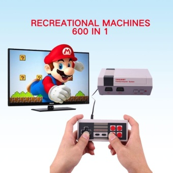 Retro Built in 600 Games Video Game Console Controllers Family Childhood - intl