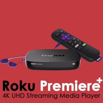 Roku Premiere Plus - HD and 4K UHD Streaming Media Player with HDR - intl