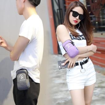 Running sports arm bag wear belt mobile phone bag fitness equipmentfor men and women hand bag arm mobile phone sets wrist bag APPLE