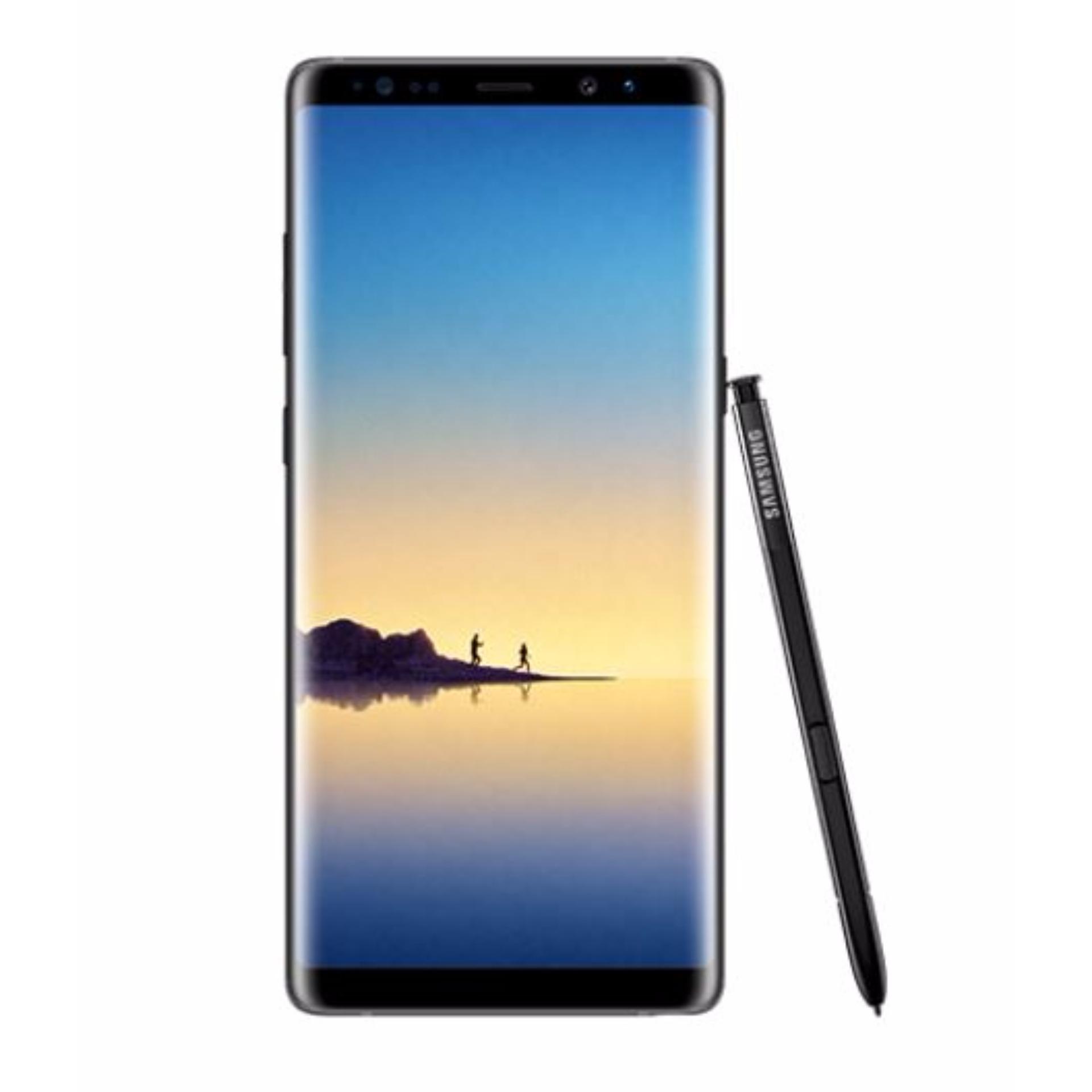 Buy Samsung Galaxy Note 8 64gb Midnight Black Free Akg Y50bt On Headphone Ear Bluetooth Headphones Singapore