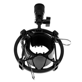 Shock Mount Holder Stand for 43-55mm Large Diaphragm CondenserMicrophone - intl