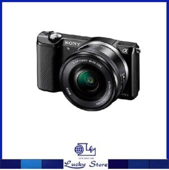 SONY ALPHA A5000 INTERCHANGEABLE LENS CAMERA WITH 16-50 LENS