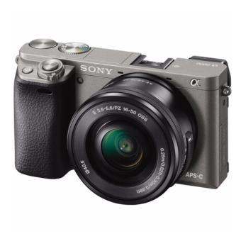Sony Alpha a6000 Mirrorless Digital Camera with 16-50mm Lens (Graphite) Warranty